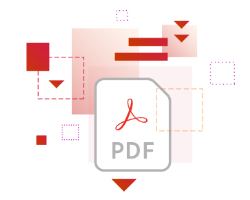 Adobe Acrobat DC edit and convert icon graphic