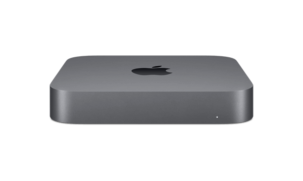 Apple Mac Mini front angle